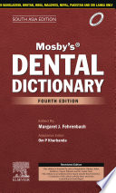Mosby s Dental Dictionary 4e  South Asia Edition  E Book