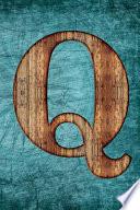 Monogrammed Notebook - Q