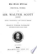 Poetical Works of Sir Walter Scott Baronet