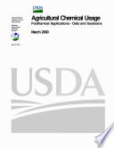 Agricultural Chemical Usage Postharvest Applications Oats and Soybeans