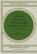 Linguistic Categories  Auxiliaries and Related Puzzles