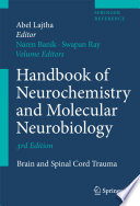 Handbook Of Neurochemistry And Molecular Neurobiology Book PDF