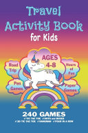 Travel Activity Book For Kids