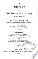 A History of Inventions  Discoveries  and Origins