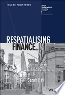 Respatialising Finance
