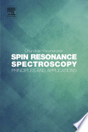 Spin Resonance Spectroscopy Book PDF