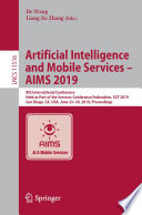 Artificial Intelligence and Mobile Services     AIMS 2019