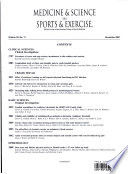 Medicine & Science in Sports & Exercise: Volume 33 Number 11 November 2001