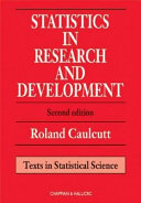 Statistics in Research and Development  Second Edition