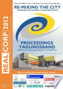 Corp 2012 Proceedings Tagungsband