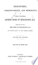 Despatches, Correspondence, and Memoranda of Field Marshal Arthur, Duke of Wellington, K. G.: 1827-1828