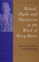 Pdf Ritual, Myth & Mysticism the Work of Mary Butts Between Feminism & Modernism (c) Telecharger