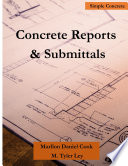Concrete Reports Submittals