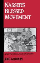 Nasser's Blessed Movement Pdf/ePub eBook