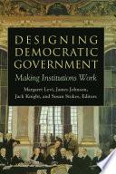 Designing Democratic Government