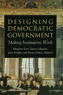 Designing Democratic Government Pdf/ePub eBook