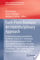 Fuels From Biomass  An Interdisciplinary Approach Book