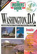 The Insiders' Guide to Washington, D. C.