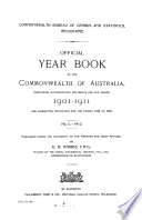 Official Year Book of the Commonwealth of Australia, No. 5 - 1912