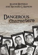 Dangerous Characters Pdf/ePub eBook