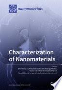 Characterization of Nanomaterials Book