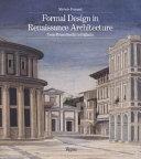 Formal Design in Renaissance Architecture