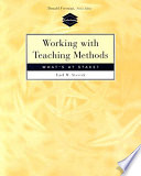 Working with Teaching Methods