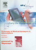 jablonskis dictionary of medical acronyms and abbreviations with cdrom dictionary of medical acronyms abbreviations