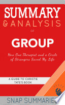 Summary   Analysis of Group