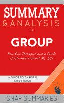 Summary & Analysis of Group Pdf/ePub eBook