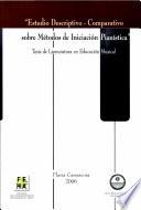 Estudio Descriptivo - Comparativo sobre Métodos de Iniciación Pianística