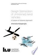 Design Optimizationof Unmanned AerialVehicles