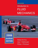 Introduction to Fluid Mechanics Book