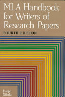 mla handbook for writers of research papers online