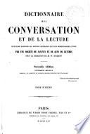 Dictionnaire de la conversation et de la lecture, 6