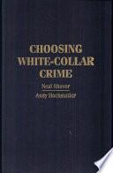 Choosing White Collar Crime Book