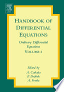 Handbook of Differential Equations  Ordinary Differential Equations