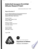 NASA DoD aerospace knowledge diffusion research project. Report number 47, Survey of reader preferences concerning the format of NASA Langley-authored technical report results of the phase 1 mail survey