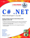 C  Net Developer s Guide