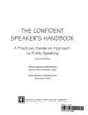 The Confident Speaker's Handbook