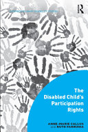 The Disabled Child's Participation Rights Pdf/ePub eBook