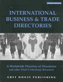 International Business and Trade Directories