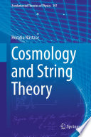 Cosmology and String Theory Book