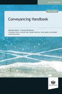 Conveyancing Handbook [Pdf/ePub] eBook