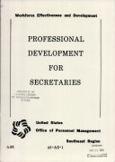 Professional Development for Secretaries