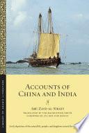 Accounts of China and India