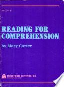 Reading for Comprehension Skills