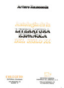 Antología de la literatura española del siglo XX