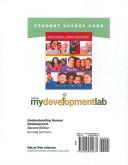 Understanding Human Development Mydevelopmentlab Student Access Code