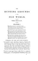 """The Hunting Grounds of the Old World. By """"The Old Shekarry,"""" H. A. L eveson . First Series. Second edition"""